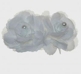 гребни с цветами свадебные фото