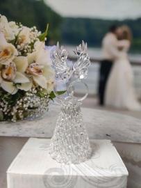 Свадебный колокольчик, хрусталь 004002