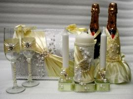 свадебный набор айвори фото