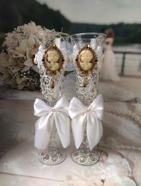 свадебные бокалы с камями фото продам сегодня 12:28