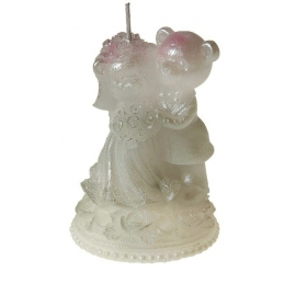 свеча свадебные мишки купить