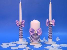 свечи очаг сиреневые фото