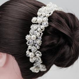 Украшение для волос, украшение для прически с жемчугом, стразами 100076