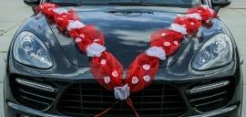 красная лента на машину