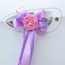 цветы на ручки розово-сиреневые фото