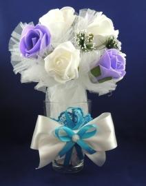 вазочка для украшения стола на свадьбу