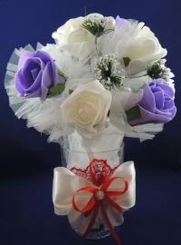 вазочка для украшения стола на свадьбу купить