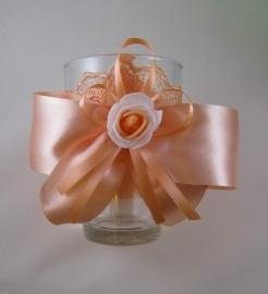 персиковая вазочка