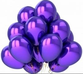 Воздушные шары фиолетовые 25шт. 000421