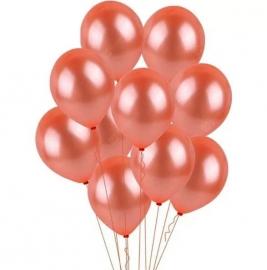 Воздушные шары персиковые 25 шт 02761