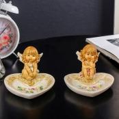 ангелочек с подставкой под обручальные кольца купить