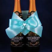 бант на шампанское тифани фото