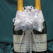 бант на свадебное шампанское купить