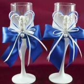 свадебные бокалы ручной работы купить