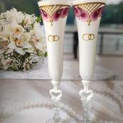 подарок на свадьбу бокалы фото