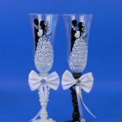 жених и невеста бокалы фото