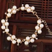 браслет невесты жемчуг фото