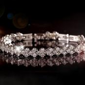 браслет невесты стразы фото