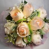 букет дублер из чайных роз купить