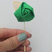 бутоньерка зеленая фото