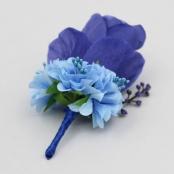 бутоньрека синяя фото