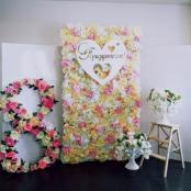 цветочная фотозона 8 марта