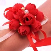 бутоньерки на руку подружкам невесты купить