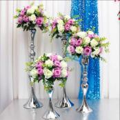 буеты для украшения столов гостей на свадьбу