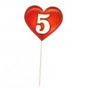 дата свадьбы цифра пять