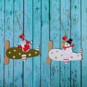 деревянные елочные игрушки фото