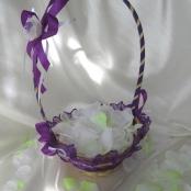 корзинки для лепестков роз фиолетовые картинка