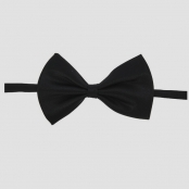 галстук бабочка детский купить черный