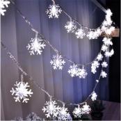 лампочки снежинки фото