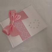 свадебные книги розовые фото