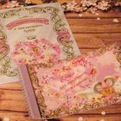книга пожеланий и папка с лебедями купить