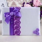 книга пожеланий восторг фиолетовая