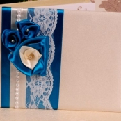 книга пожеланий синяя купить