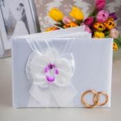 книга пожеланий с орхидеями купить