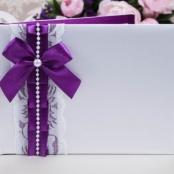 книга пожеланий фиолетовая купить