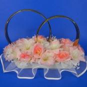 украшение на машину чайные розы