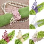 розовые бабочки на салфетки фото