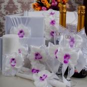 свадебные украшения с орхидеями купить