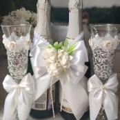 белый комплект свадебных аксессуаров фото сегодня 11:06