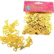 золотое конфетти