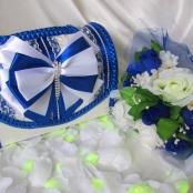 синий сундук на свадьбу фото