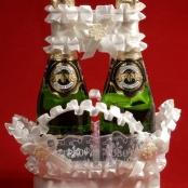 бежевые свадебные аксессуары фото