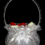 корзиночка для лепестков красивая