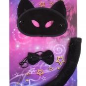 костюм черная кошка, черная кошка на хеллоуин