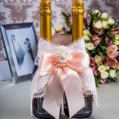 персиковое свадебное шампанское купить