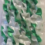 лента на машину бело-зеленая купить